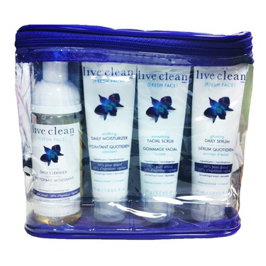 Live Clean Fresh Face Trial and Travel Kit