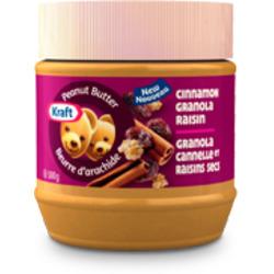 Kraft Cinnamon Granola Raisin Peanut Butter