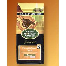 Green Mountain Fair Trade Decaf Pumpkin Coffee