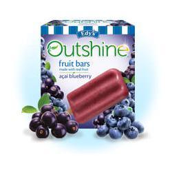 Edy's Outshine Fruit Bars Acai Blueberry