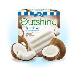 Edy's outshine Fruit Bars Creamy Coconut