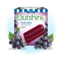 Edy's Outshine Fruit Bars Grape