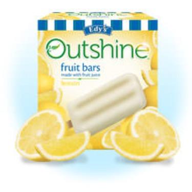 Edy's Outshine Fruit Bars Lemon