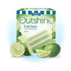 Edy's Outshine Fruit Bars Lime
