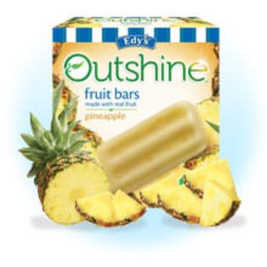 Edy's Outshine Fruit Bars Pineapple