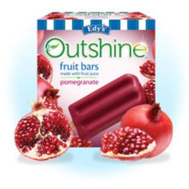 Edy's Outshine Fruit Bars Pomegranate