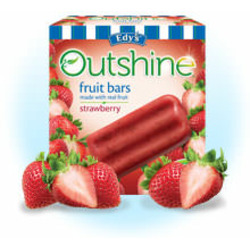 Edy's Outshine Fruit Bars Strawberry