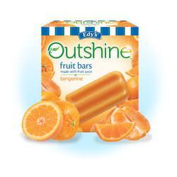 Edy's Outshine Fruit Bars Tangerine