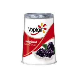 Yoplait Original Blackberry Harvest Yogurt