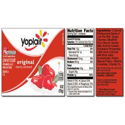 Yoplait Original CHERRY ORCHARD Yogurt