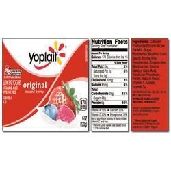 Yoplait Original MIXED BERRY Yogurt