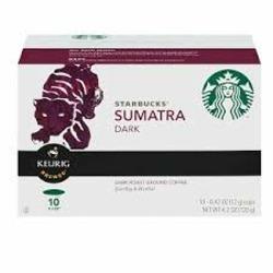 Starbucks Sumatra Dark Coffee K-Cups