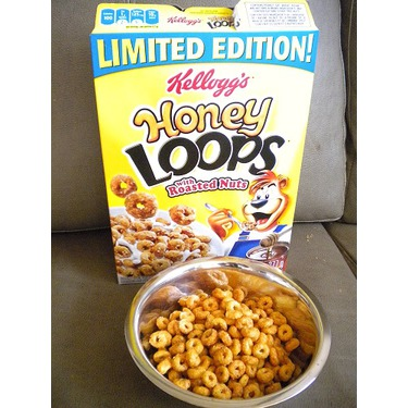 Kellogg's Honey Loops with Roasted Nuts