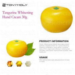 Tony Moly tangerine hand cream
