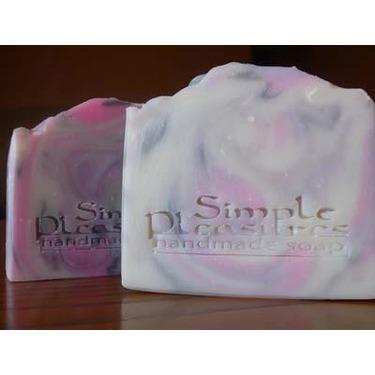 Simple Pleasures HomemadeLemon Drop Shea Butter Bar Soap