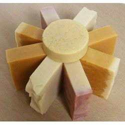 Simple Pleasures HomemadeLemon Drop Shea Butter Bar Soap