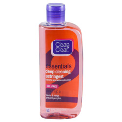 Clean & Clear Deep Cleaning Astringent Oil-free
