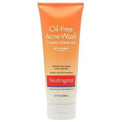 Neutrogena Oil-Free Acne Cream Wash