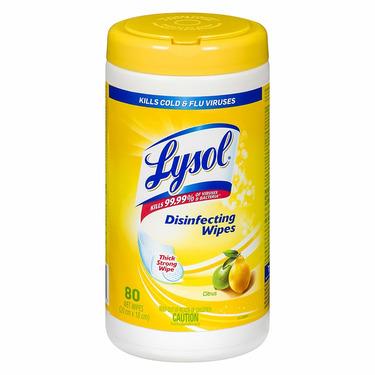 Lysol Disinfecting Wipes Citrus
