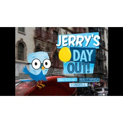 Jerry's Day Out by Ink Robin