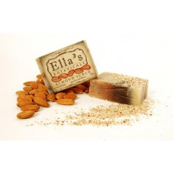 Ella's Botanicals- Almond Scrub Bar
