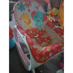 fisher price infant toddler chair