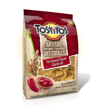 Tostitos Artisan Fire Roasted Chipotle Tortilla Chips
