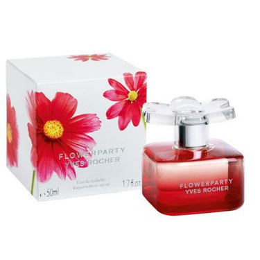 Yves Rocher flower party by night perfume