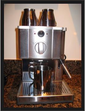 breville roma espresso machine review