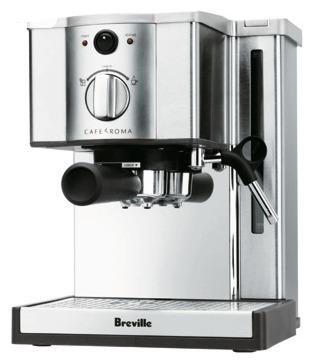 breville cafe roma espresso machine reviews in coffee chickadvisor. Black Bedroom Furniture Sets. Home Design Ideas