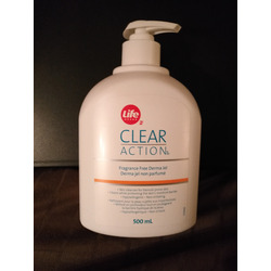 Life Brand Clear Action Oil-Free Acne Face Wash
