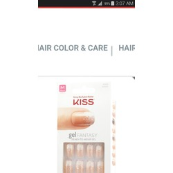 Kiss Gel Fantasy Nail Kit