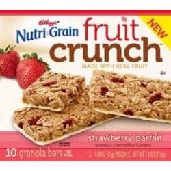 Kelloggs NutriGrain Fruit Crunch