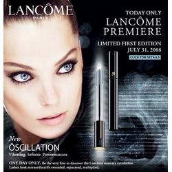 Lancôme Paris Oscillation Mascara