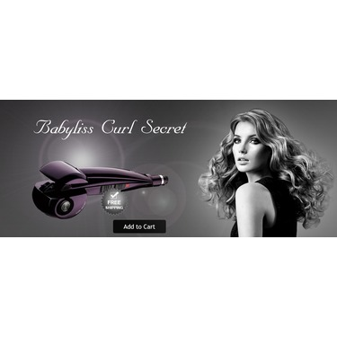 Babyliss Pro Hair curl tool