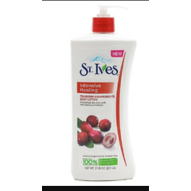 St. Ives Intensive Healing Cranberry Seed & Grape Seed Oil Body Lotion