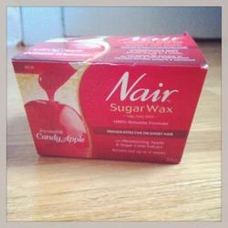 Nair Irresistible Candy Apple Sugar Wax