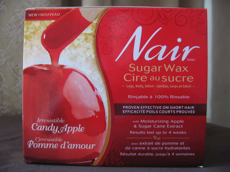 Nair Irresistible Candy Apple Sugar Wax reviews in Hair ...