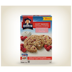 Quaker Soft Baked Cookies - Cranberry and Yogurt