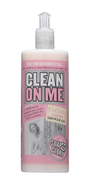 Shower gel or soap
