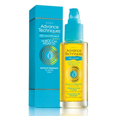 Avon Advance Techniques 360 Nourish Moroccan Argan Oil Leave-in Treatment