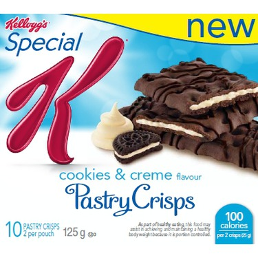 Special K Pastry Crisps