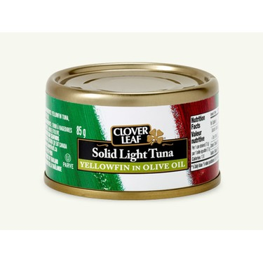 Clover leaf solid light tuna in olive oil