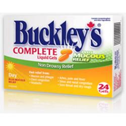 Buckley Complete Liquid Gels