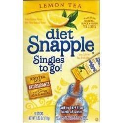 Diet Snapple Singles To Go in Lemon Iced Tea