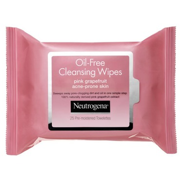 Neutrogena Oil-Free Cleansing Wipes Pink Grapefruit