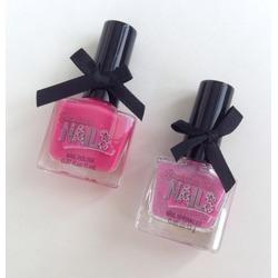 Rockstar nail polish and sprinkles