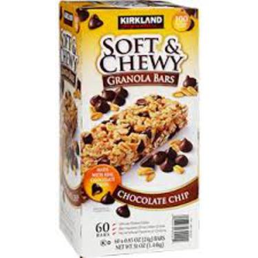 Kirkland Soft & Chewy Chocolate Chips Granola Bars