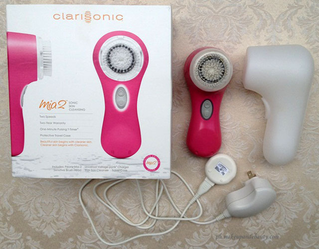 how to clean clarisonic mia