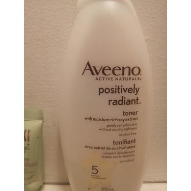 Aveeno Positively Radiant Toner
